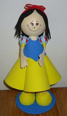fun foam Snow White doll...photos