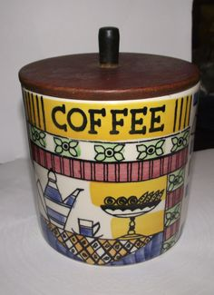 1950/60s Jie Gantofta by Anita Nylund Coffee Jar