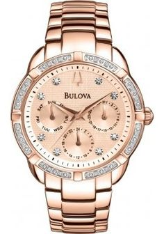 Bulova-Diamond-Girls-Quartz-Watch-with-Rose-Gold-Dial-Analogue-Display-and-Stainless-Steel-Rose-Gold-Plated-Bracelet-98W178-0
