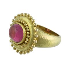 $3450 Elizabeth-Locke-19K-Gold-Pink-Tourmaline-Ring