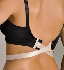 The Natural Plus Size Low Back Bra Converters