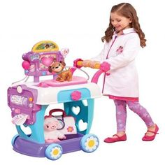 2016 Hot Toy List: Rated Kid-Tested and Parent-Approved (Parents Magazine / Amazon) Just Play Doc McStuffins Hospital Care Cart Toy