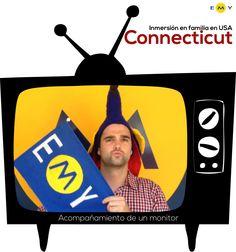 EMY Cursos en el extranjero #CursosIngles #USA #EstadosUnidos #Connecticut Programas de inmersión en familia en Estados Unidos con monitor acompañante.