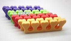 Pedicure Toe Seperator Salon Use random colors 12Pcs * Read more  at the image link.