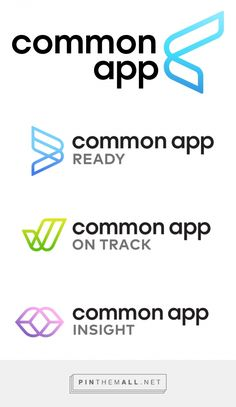 Brand New: New Logo and Identity for Common App by Tomorrow Partners. - a grouped images picture Endorsed Brand, Brand Architecture, App Logo, Corporate Identity, Of Brand, Pinterest Marketing, Israel, Insight, Branding
