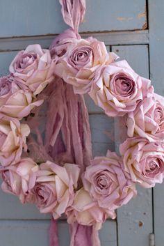 Handmade Rose Crown by Designer Rachel Noelle Pallas by joannecoletti on Etsy