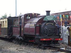 Ffestiniog Railway 0-4-0 number 4 Palmerston at RailFest, National Railway Museum (08/06/2012) | Flickr - Photo Sharing!