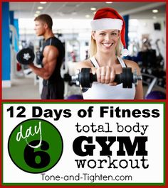 12 Days of Fitness - Killer Gym Workout