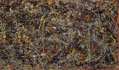 Jackson Pollock is one of the most-famous artists of century, and his energetic abstract paintings are renowned around the world. But which of his works ar Expressionist Artists, Abstract Expressionism Art, Abstract Art, Abstract Paintings, Most Famous Artists, Most Famous Paintings, Mark Rothko, Wassily Kandinsky, Salvador Dali