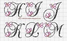 Resultado de imagem para graficos de monogramas em  ponto cheio