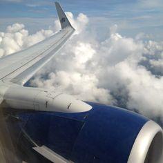 Flying & Relaxing! #smirnoffsorbet