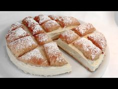 Quando ho POCHI MINUTI faccio questa torta, e tutti dicono WOW! #371 - YouTube Puff Pastry Desserts, Custard Desserts, Baking Recipes, Cake Recipes, Dessert Recipes, Great Desserts, Holiday Desserts, Food Cakes, Cupcake Cakes
