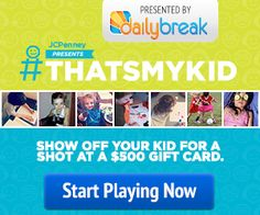 DailyBreak $$ JCPenney® Child's Inner Artist: Enter to Win a $500 JCPenney Gift Card!