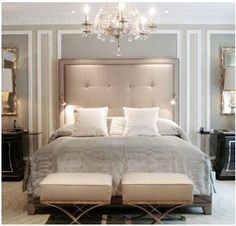 Love the wall color and the decor over the headboard. Description from pinterest.com. I searched for this on bing.com/images