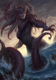 魔神·海禁 (Devil gods) by Xiaochen Li : ImaginaryMonsters