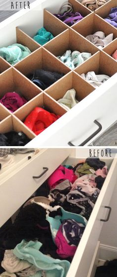 Customized Drawer Organizers | Small Condo Adorning Concepts on a Price range.... ** See more at the picture link