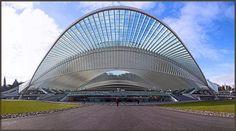 Liège-Guillemins Railway Station