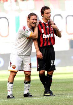 Francesco Totti und Andrea Pirlo