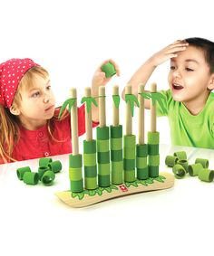 Quattro Connect Bamboo Game by Hape