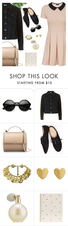 """Rocker Chic Flatlay"" by frustrated-designer on Polyvore featuring Givenchy, Wet Seal, Chanel, Estée Lauder and Sugar Paper"