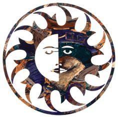 Sun Wall Art  www.rusticeditions.com