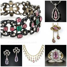Read more about it. Imperial Topaz, Pink Topaz, Birthstones, Antique Jewelry, Gems, Antiques, Bracelets, November, Design