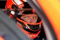 Garth Tander from Holden Racing Team at Queensland Raceway in Ipswich