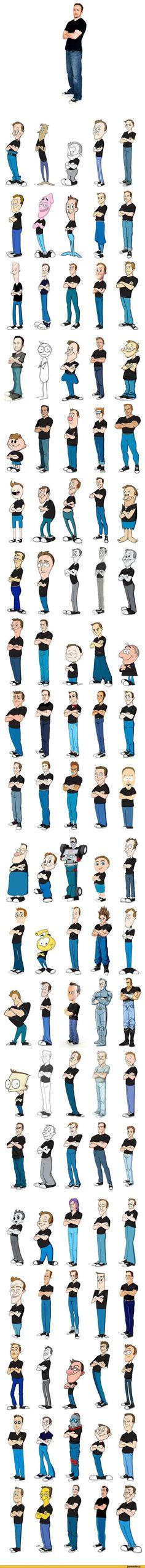 Los 100 autoretratos de Kevin McShane.