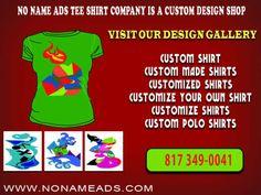 94a934076 No Name Ad : Clothing & Fashion Custom Polo Shirts, Tee Shirts, Custom