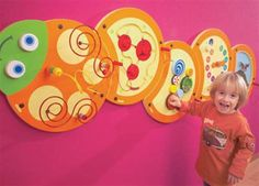 Toys for Time Limited - 5 Piece Caterpillar Wall Panel Option A Multi Activity Wall Panels Activity Wall Panels View by Product Main Section Toddler Activity Board, Activity Cube, Activity Room, Toddler Activities, Activities For Kids, Wall Scenery, Front Wall Design, Recycled Toys, Candy Gift Box