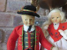 2 Norway Ronnaug Petterssen Doll All Original Girl and Boy | eBay