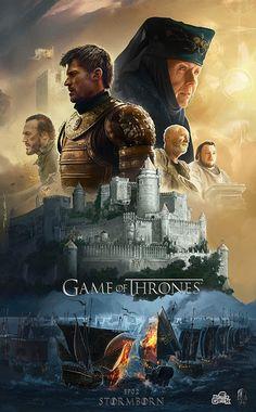 'Game Of Thrones Season 7 'Stormborn' by Ertaç Altınöz