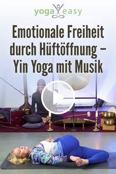 Emotionale Freiheit durch Hüftöffnung – Yin Yoga mit Musik - Easy yoga for beginners Pilates Workout Routine, Pilates Training, Yoga Routine, Kickboxing Workout, Yoga Pilates, Yoga Yin, Yoga Meditation, Iyengar Yoga, Ashtanga Yoga