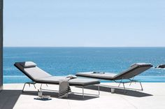 Mood outdoor Sunbed - Manutti   Tomassini Arredamenti