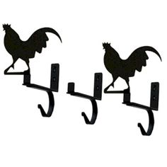 #Rooster #Curtain #Shelf #Bracket (Set of 3) http://www.okdecor.com/apps/search?q=rooster