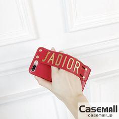 d1ff71ca176e JADIOR ジャディオール iPhone8 iPhone7 ケース レザー ベルトスタンド付き 落下防止 大ぶりロゴ