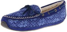 Acorn Women's Nordic Moc Slipper (bestseller)  #Acorn Acorn, Moccasins, Best Sellers, Me Too Shoes, Fashion Shoes, Slippers, Flats, Navy, How To Wear