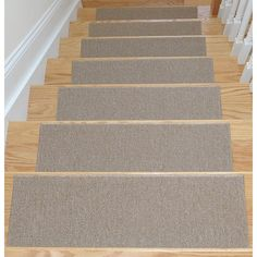 Make Sure Your Stairs Are Safe From Slipping With The Help Of These Skid Resistant  Stair Treads, Perfect For Any Wooden Staircase.