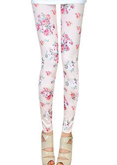 CoolBiz Women's Floral Print Legging White One Size CoolBiz http://www.amazon.com/dp/B00MQP8AWC/ref=cm_sw_r_pi_dp_YL3dwb0SD30QD