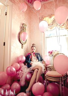 """""""Eccentric Style"""" by Owen Bruce for ELLE Canada September 2015 pink Fashion Photography Inspiration, Photoshoot Inspiration, Beauty Photography, House Photography, Photography Ideas, Pink Photography, Photography Accessories, Photography Challenge, Photography Basics"""