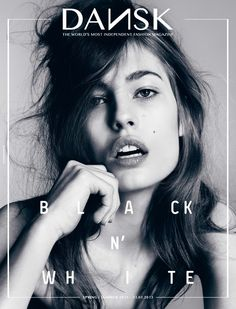 DANSK Magazine • Black 'n White