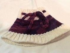 Free knitting Skirt Pattern for 18 Inch Doll pattern by Denise Wheeler