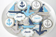 Nautical Baby Shower! | Cookie Connection