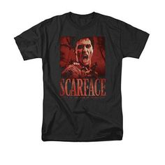 Scarface Opportunity Black T-Shirt