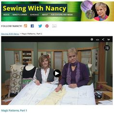 Building on ideas that originated over 90 years ago, you will be amazed at the magic used to create a variety of sewing patterns. During the next two Sewing With Nancy programs my guest Amy Barickm...
