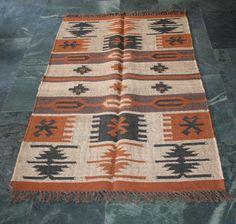 Vintage Anatolian Nomadic, Turkish Rug, Kilim Rug, Afghan / persian area rug, #Geometric