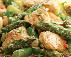 Indian-Spiced Chicken & Asparagus