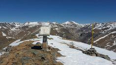 Cima de la #montaña del #Balandrau  en #Cataluña