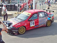 Seat Toledo Cupra Mk.II (2003-05) # 78 Andre Severs (GB), Peter James (GB), Malcolm MacAdam (GB), Mark Heyward (GB) Racing in the Britcar 24hour race.