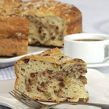 Tuscan Coffeecake: King Arthur Flour. Excellent and not too sweet.  Love the crackley vanilla glaze. Definitely a keeper.